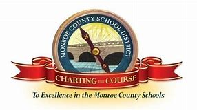 "A Logo in representation of the district's motto of ""Charting the Course"""