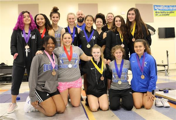 Girls Weightlifting District Championship