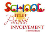 Parent Involvement Plan 2015-2016