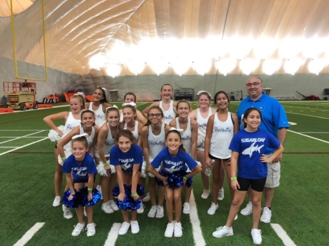 sls sharkettes with coach and principal