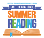summer reading challenge graphic