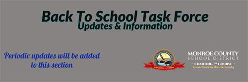 back to school task force update