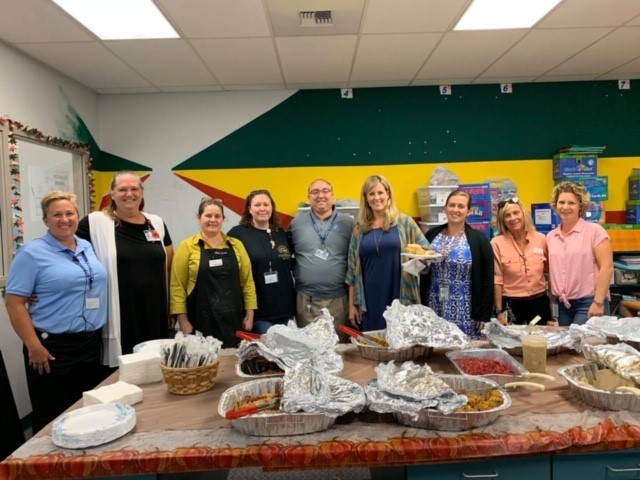 Thank You Winn Dixie for the Great Thanksgiving Luncheon
