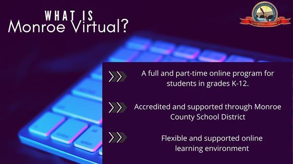 Alternative Education Monroe County School District Virtual Instruction Program