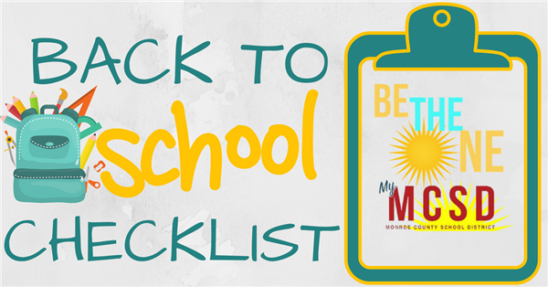 back to school checklist image