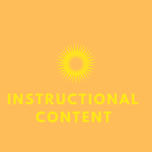 Instructional Content