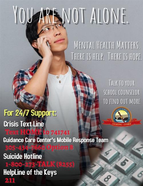 mental Health Flyer