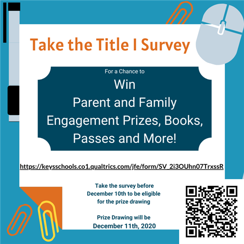 Title I Survey flyer